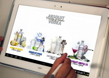 Vodka Absolut Puzzle Game